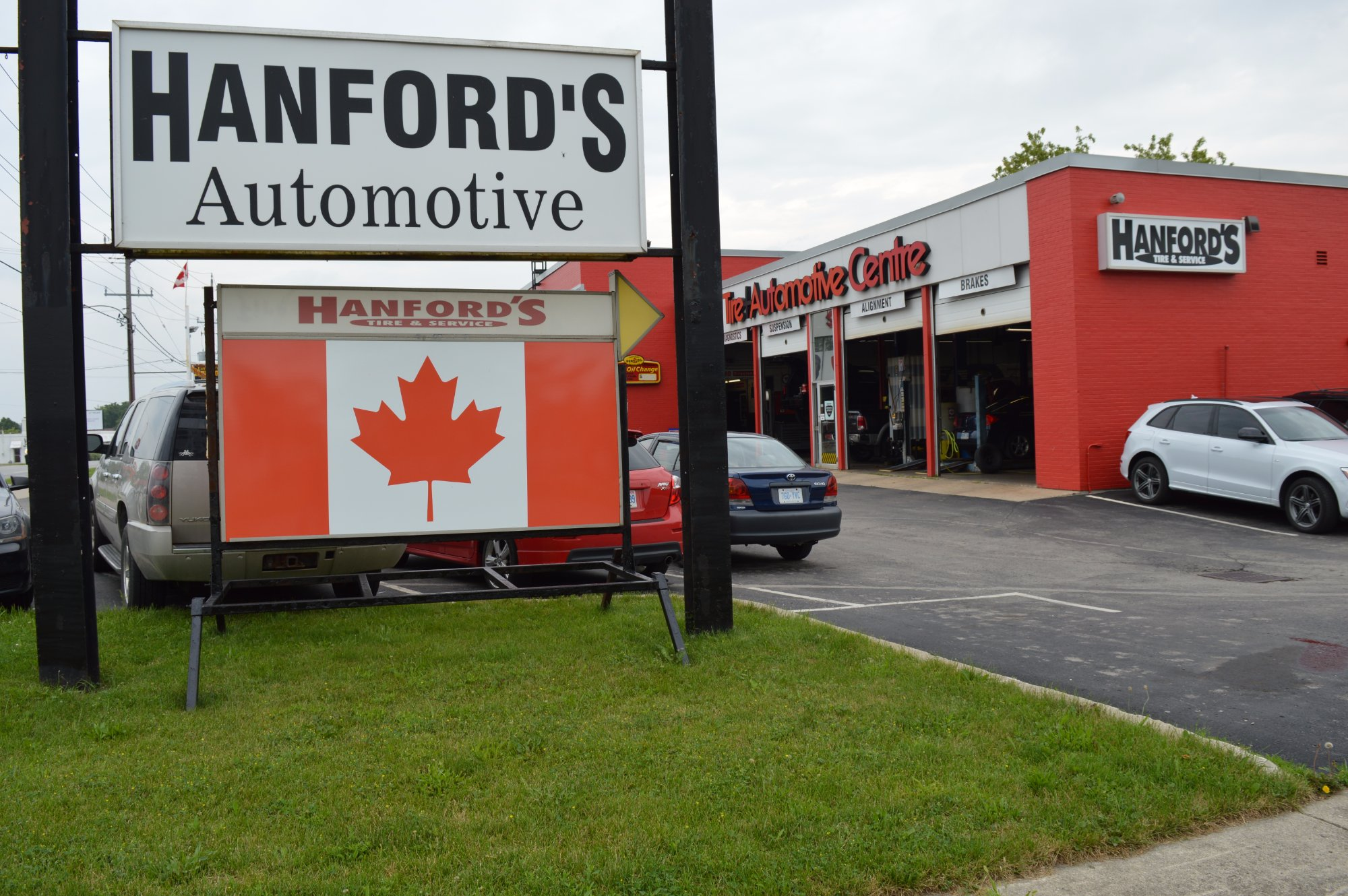 Wharncliffe Hanford Tire and Service